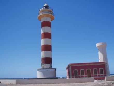 Leuchtturm im Norden der Insel - Punta de Tostón / Leuchtturm