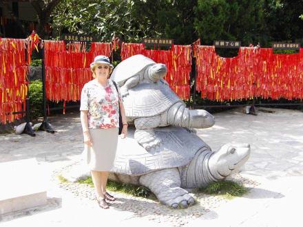 Sanya - Tempel-Anlage in Nanshan