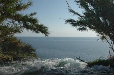 Hier endet der Fluss - Unterer Düden Wasserfall / Karpuzkaldiran Şelalesi