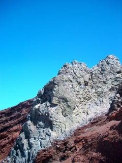 Eingeschlossener Granit - Roque de los Muchachos