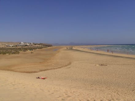 Strandwanderung - Playa Barca