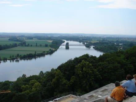 Blick von der Walhalla zur Donau - Walhalla