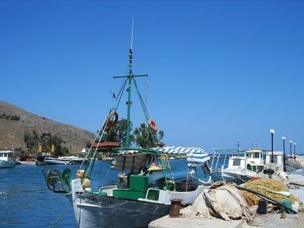 Vom Fischen zurück - Fischereihafen Georgioupolis