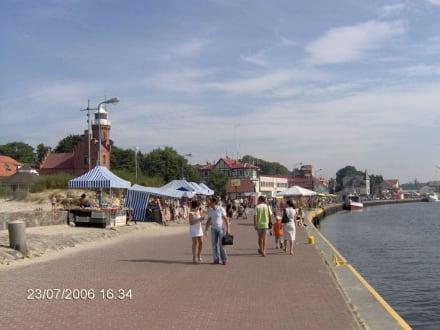 Strand/Küste/Hafen - Hafen Stolpmünde/Ustka