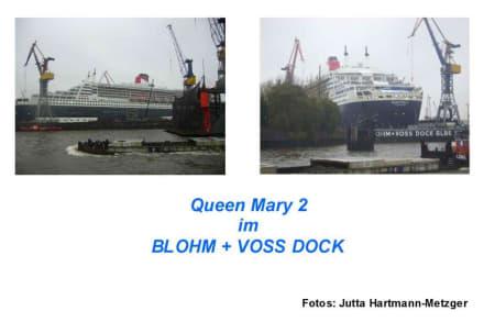 Hafenrundfahrt: QUEEN MARY 2 - Hafenrundfahrt Hamburg