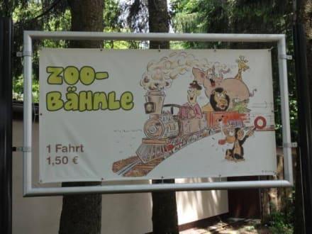 Zoo Bähnle  - Zoo Augsburg