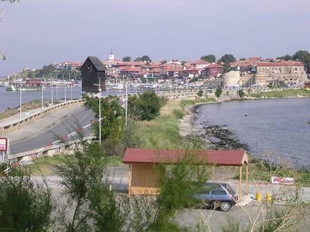 Die Straße zur Halbinsel - Altstadt Nessebar