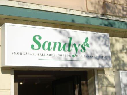 Schild Sandy's - Café Sandy's