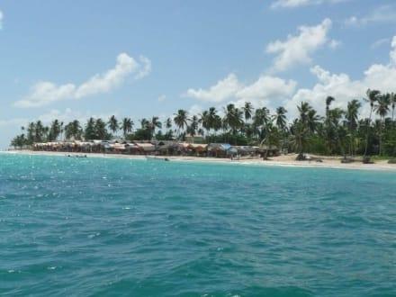 Verkaufsbuden Nähe Iberostar/Riu Hotels - Katamaran Tour Tropical Storm Punta Cana