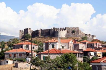 Lesbos - Molivos, die Burg - Burg von Molivos