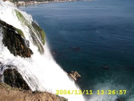 Alexanderwasserfall - Unterer Düden Wasserfall / Karpuzkaldiran Şelalesi