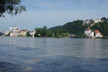 Dreiflüssestadt Passau - Altstadt Passau