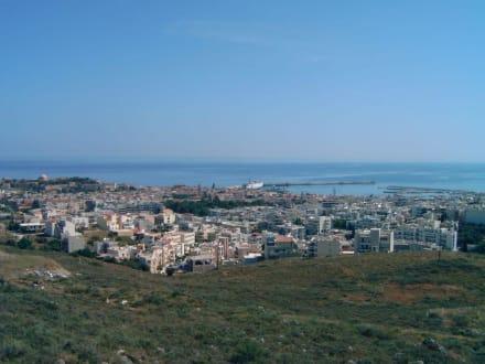 Panoramablick auf Rethymnon - Altstadt Rethymno