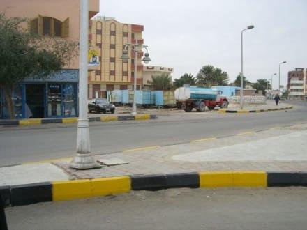 Innenstadt von Hurghada - alter Lastwagen - Zentrum Hurghada