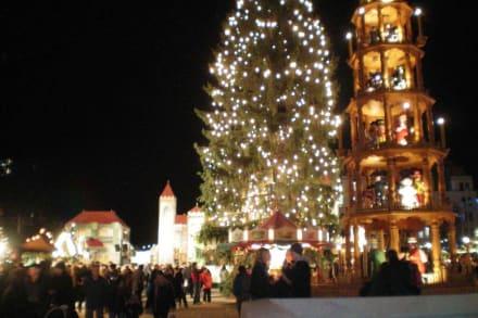 Striezelmarkt Dresden 2008 - Striezelmarkt (Weihnachtsmarkt) Dresden