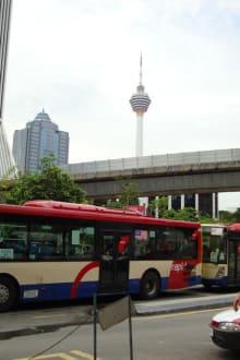 Der Tower - Menara Kuala Lumpur (Fernsehturm)