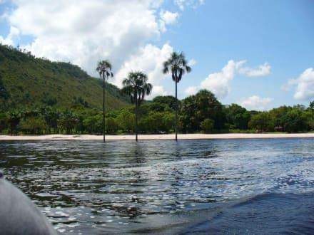 Lagune von Canaima - Wasserfälle von Canaima - Salto Sapo