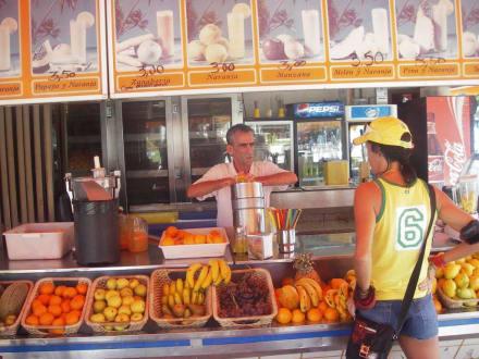 Impressionen von der Saftbar - Zumeria Tutti Frutti