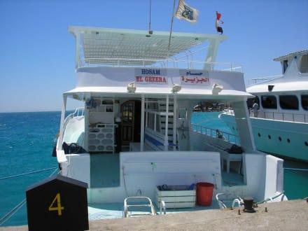 Tauchboote - Schnorcheln Hausriff Palm Beach Resort Hurghada