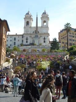 Touristenmagnet - Piazza di Spagna & Spanische Treppe