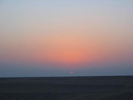 Sonnenaufgang - Wüste