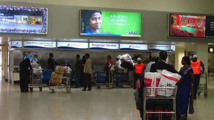 Baggage (Koffer und Taschen) Service - Flughafen Colombo/Bandaranaike International Airport (CMB)