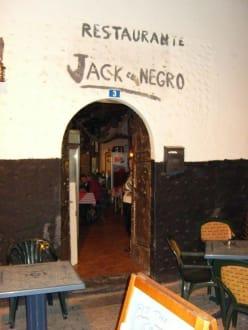 Der Eingang - Jack el Negro