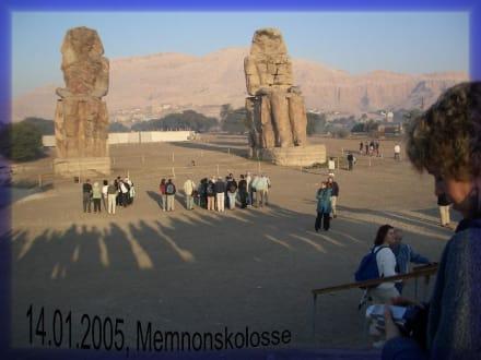 Memnonskolosse - Kolosse von Memnon