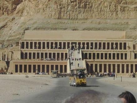 Ein tolles Bauwerk - Tempel der Hatschepsut