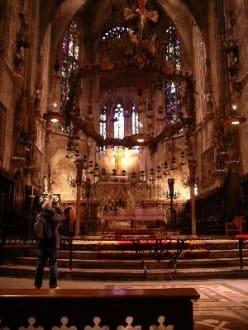 Innenansicht der Kathedrale - Kathedrale La Seu