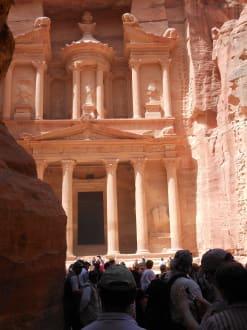 Ausflug nach Petra - Felsenstadt Petra