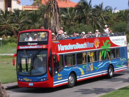 Varadero Beach Bus - Varadero Beach Bus Tour - Doppeldeckerbuslinie