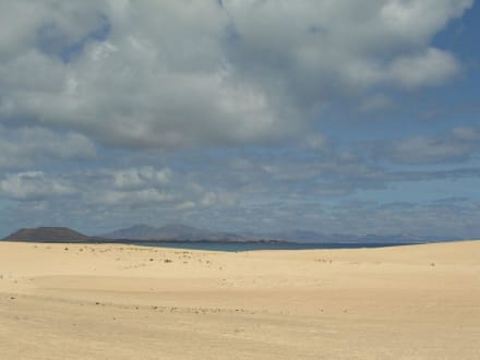 Die Sanddünen - Naturpark Dünen von Corralejo