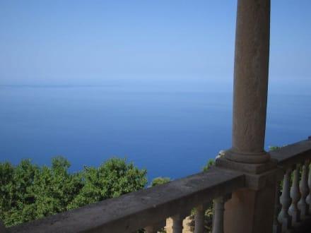 Ausblick vom Balkon auf die Bucht - Son Marroig