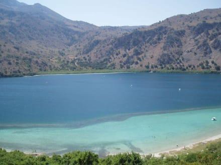 Süßwassersee Kournas - Kournas See