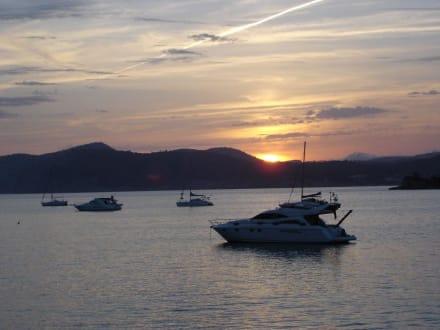 "Sonnenuntergang im Restaurant ""meson de mar"" - Restaurant Meson de Mar"