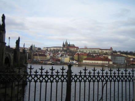 Blick auf die Prager Burg - Prager Burg / Hradschin