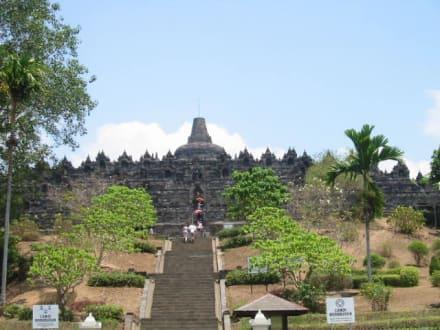 Borobodur  Tempel auf Java - Borobudur