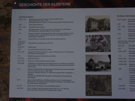 Burchardikirche: Geschichtstafel - Burchardi Kirchenorgel