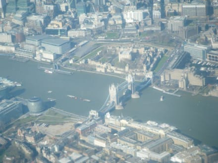 Tower Bridge - Flugzeugaufnahme - Tower Bridge