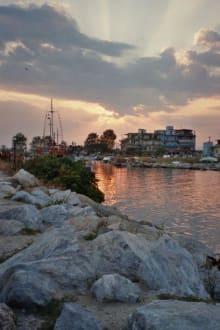 Hafen von Paralia - Hafen Paralia
