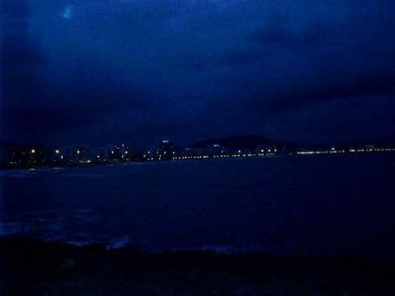 Cala Millor bei Nacht - Strand Cala Millor
