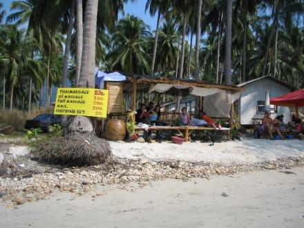 Thaimassage gefällig? - Klong Phrao Beach
