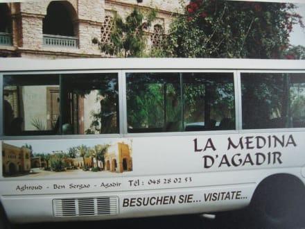 Der Shuttle-Bus zur Medina - Medina Polizzi
