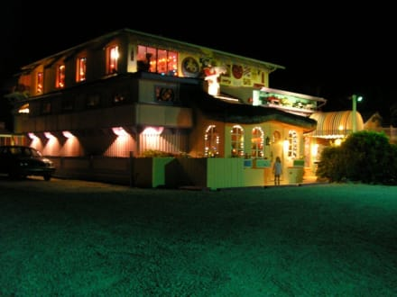 Bubble Room Restaurant auf Captiva Island - Bubble Room Restaurant
