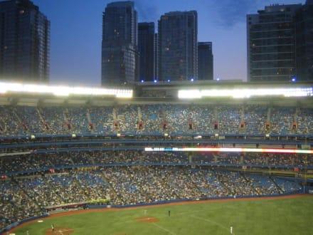 Während eines Spiels der Toronto Blue Jays - Rogers Centre ex Skydome