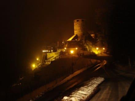 Burg Deutschlandsberg bei Nacht - Burg Deutschlandsberg