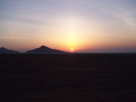 Sonnenaufgang über der Wüste - Quad Tour Sharm el Sheikh