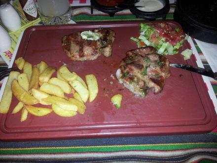 Hollzfällersteak - Steakhouse El Rancho