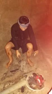 Arbeit unter der Erde - Củ Chi Tunnel